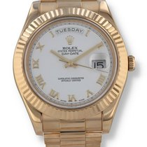 Rolex Day-Date II Yellow gold 41mm White Roman numerals United States of America, New Hampshire, Nashua