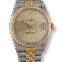 Rolex Oyster Perpetual Date Steel 34mm Champagne United States of America, New Hampshire, Nashua