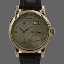 A. Lange & Söhne Lange 1 Yellow gold Champagne Roman numerals