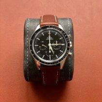 Omega Speedmaster Professional Moonwatch Stahl 39.7mm Schwarz Keine Ziffern Deutschland, Mannheim