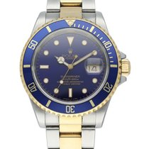Rolex 16613 Steel Submariner Date 40mm pre-owned United States of America, New York, New York