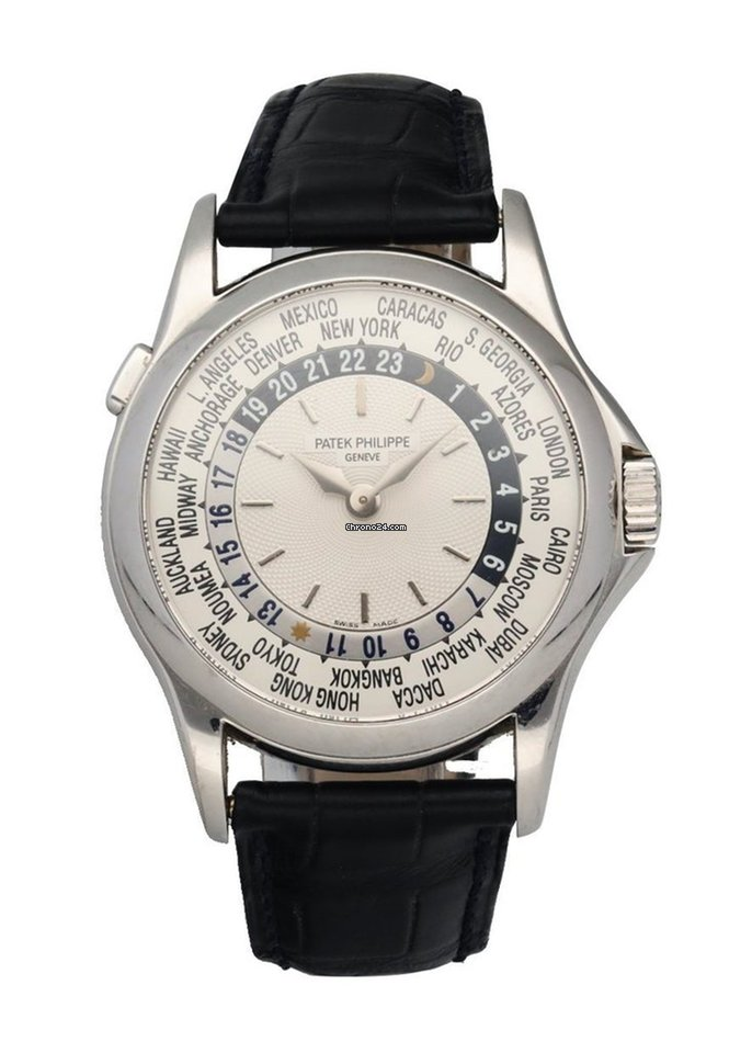 Patek Philippe World Time 5110G pre-owned