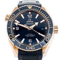 Omega Seamaster Planet Ocean Oro rosa 43.5mm Azul