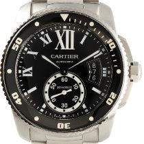 Cartier Calibre de Cartier Diver Steel 43.5mm Black