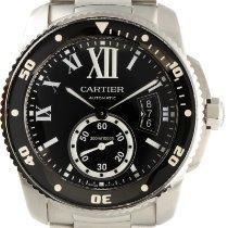 Cartier Calibre de Cartier Diver Сталь 43.5mm Черный