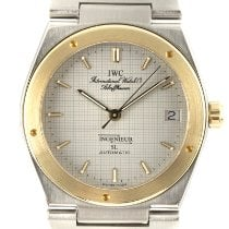 IWC Ingenieur Automatic Gold/Steel 34mm Grey