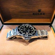Rolex Submariner Date Acier 40mm Noir Sans chiffres