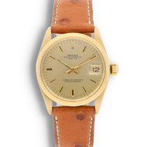 Rolex Oyster Perpetual Date Yellow gold 34mm Champagne United States of America, California, Los Angeles