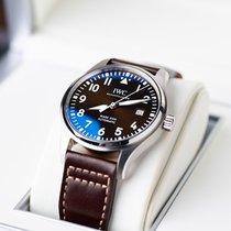 IWC Pilot Mark Steel 40mm Brown Arabic numerals