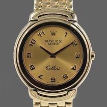 Rolex Cellini Yellow gold 37mm Gold Roman numerals