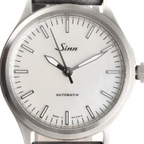 Sinn 556 pre-owned 38.5mm Mother of pearl Leather