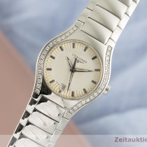 Longines Oposition Steel 25mm Silver