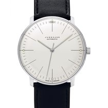 Junghans max bill Automatic occasion 38mm Argent Cuir
