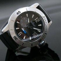 Jaeger-LeCoultre Master Compressor Diving GMT Titanium 46mm Black No numerals
