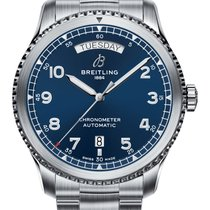 Breitling Aviator 8 Steel 41mm Blue United States of America, New York, NY