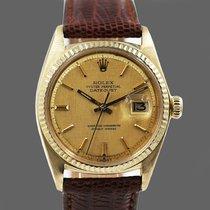 Rolex 1601 Sárgaarany 1983 Datejust 36mm használt