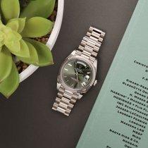 Rolex Day-Date 40 Witgoud 40mm Nederland, Amsterdam