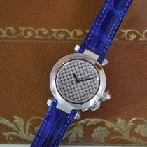 Cartier Pasha neu 2001 Automatik Uhr mit Original-Box und Original-Papieren WJ112031