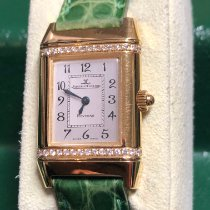 Jaeger-LeCoultre Reverso (submodel) Yellow gold 21mm Silver Arabic numerals