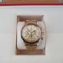 Omega Or jaune Remontage manuel Or Sans chiffres 42mm occasion Speedmaster Professional Moonwatch