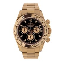 Rolex Daytona Rose gold 40mm Black No numerals United States of America, New York, New York