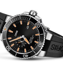 Oris Aquis Small Second new 2020 Automatic Watch with original box and original papers 01 743 7733 4159-07 4 24 64EB