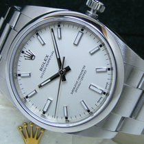 Rolex Air King Date Steel 34mm Silver No numerals United States of America, Pennsylvania, HARRISBURG