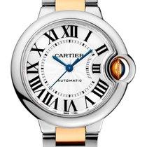 Cartier Ballon Bleu 33mm подержанные 33mm Cеребро Золото/Сталь