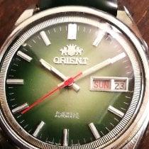 Orient (オリエント) 中古 自動巻き 36mm グリーン ミネラルガラス 5 ATM