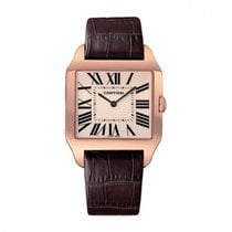 Cartier W2006951 Rose gold Santos Dumont 44.6mm pre-owned
