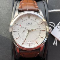 Oris Artelier Small Second Steel White