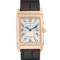 Jaeger-LeCoultre Rose gold Manual winding White 25mm pre-owned