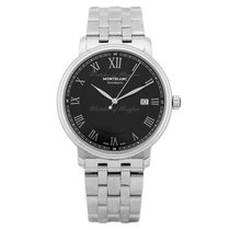 Montblanc Steel Automatic Black 40.00mm new Tradition