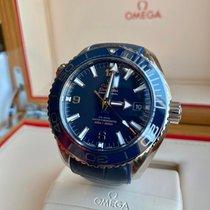 Omega Seamaster Planet Ocean Steel 43.5mm Blue Arabic numerals