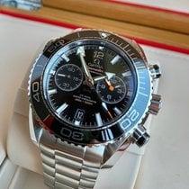 Omega Seamaster Planet Ocean Chronograph nuevo 2021 Automático Cronógrafo Reloj con estuche y documentos originales 215.30.46.51.01.001