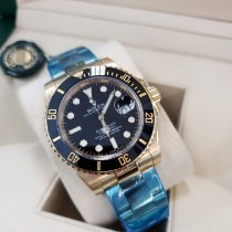 Rolex Submariner Date Yellow gold 40mm Black No numerals United States of America, New Jersey, Totowa