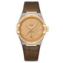 Omega Constellation nuevo Automático Reloj con estuche y documentos originales 131.23.39.20.08.001