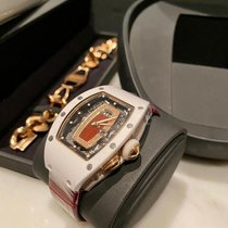 Richard Mille RM 037 Rose gold 52.63mm Transparent No numerals