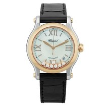 Chopard Happy Sport 278559-6008 New Gold/Steel 36mm Automatic