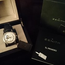 Zenith El Primero Chronomaster Ocel 45mm Stříbrná Římské Česko