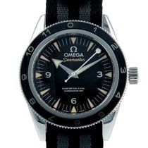 Omega Seamaster 300 pre-owned 41mm Black Fold clasp