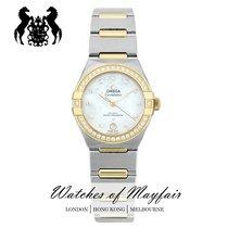 Omega Constellation nuevo Automático Reloj con estuche y documentos originales 131.25.29.20.55.002