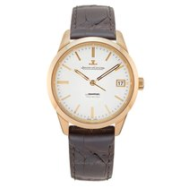 Jaeger-LeCoultre Geophysic True Second Or rose 39.6mm Argent