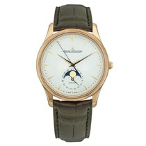Jaeger-LeCoultre Master Ultra Thin Moon Rose gold 39mm Silver