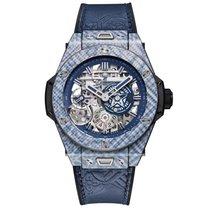 Hublot Big Bang Meca-10 nuevo Cuerda manual Reloj con estuche y documentos originales 414.YL.5179.VR.SHF18