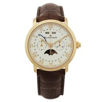 Blancpain Villeret Complete Calendar new Automatic Watch with original box and original papers 6685-3642-55B