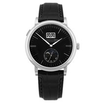 A. Lange & Söhne Saxonia White gold 40mm Black