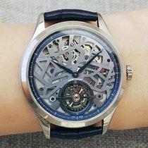 Montblanc White gold Automatic Grey 40mm new Heritage Chronométrie