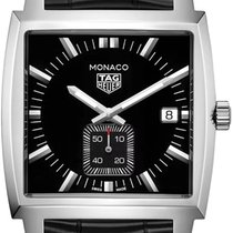 TAG Heuer Monaco Lady Steel 37mm Black No numerals United States of America, New York, Bellmore