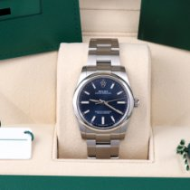 Rolex Oyster Perpetual 34 Steel 34mm Blue No numerals United States of America, California, Los Angeles